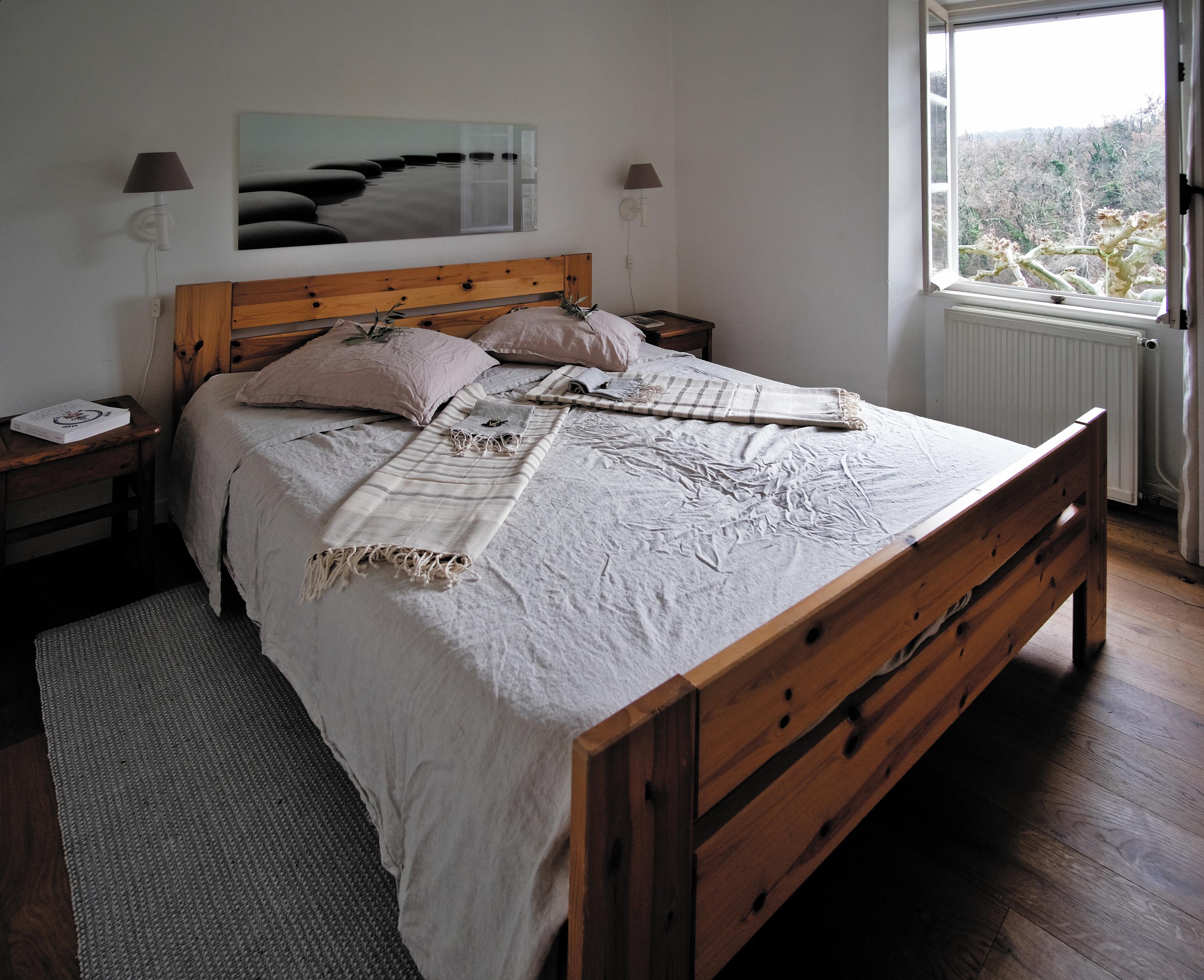 chambre à coucher avec vue