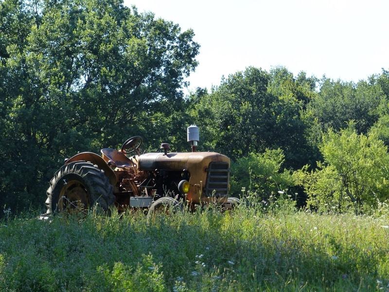 Le tracteur d'Erwin